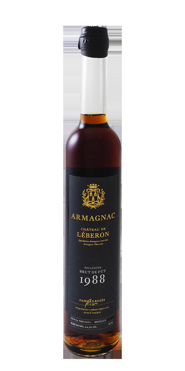 ARMAGNAC CHATEAU DE LEBERON 1988 44.9%