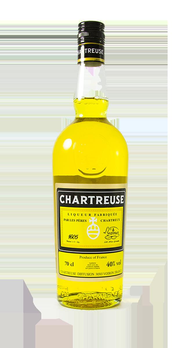 LIQUEUR CHARTREUSE JAUNE 40%