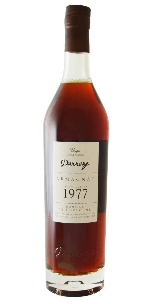 ARMAGNAC DOMAINE DE COULOUME 1977 48.3% COLLECTION FRANCIS DARROZE