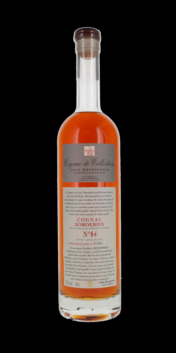 COGNAC BORDERIES N°84 57,3% JEAN GROSPERRIN