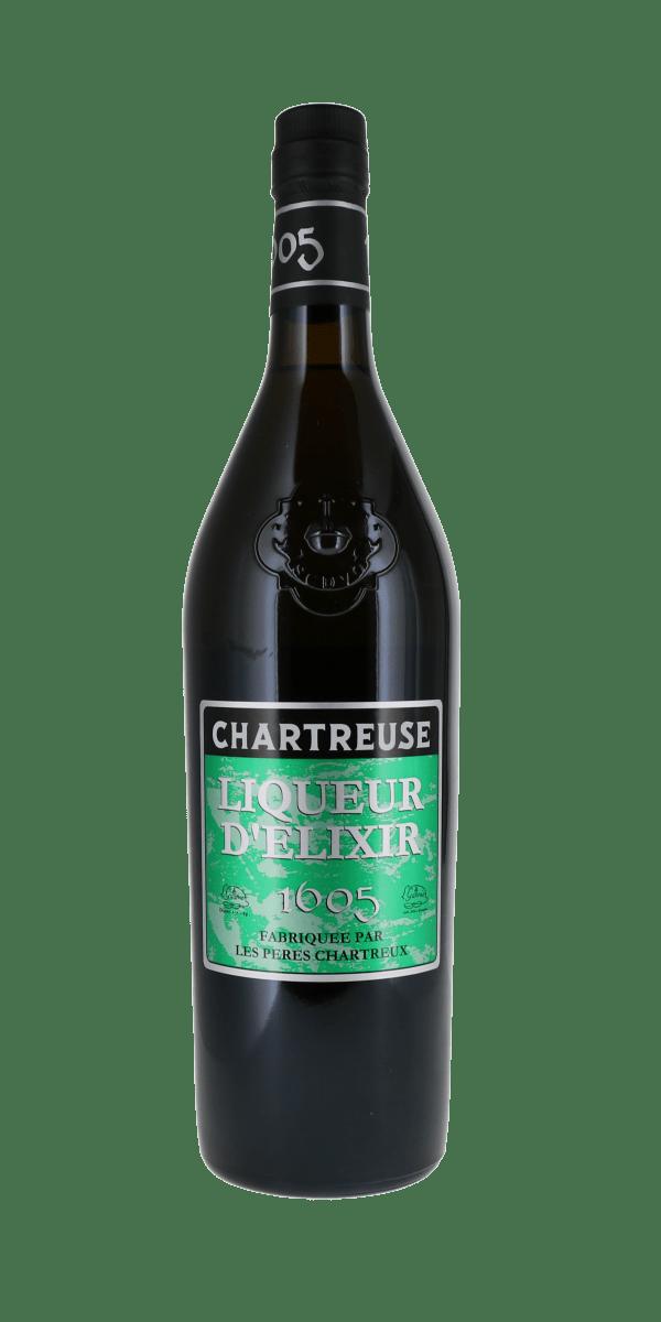 LIQUEUR CHARTREUSE 1605  LIQUEUR D'ELIXIR 56% CHARTREUSE DIFFUSION