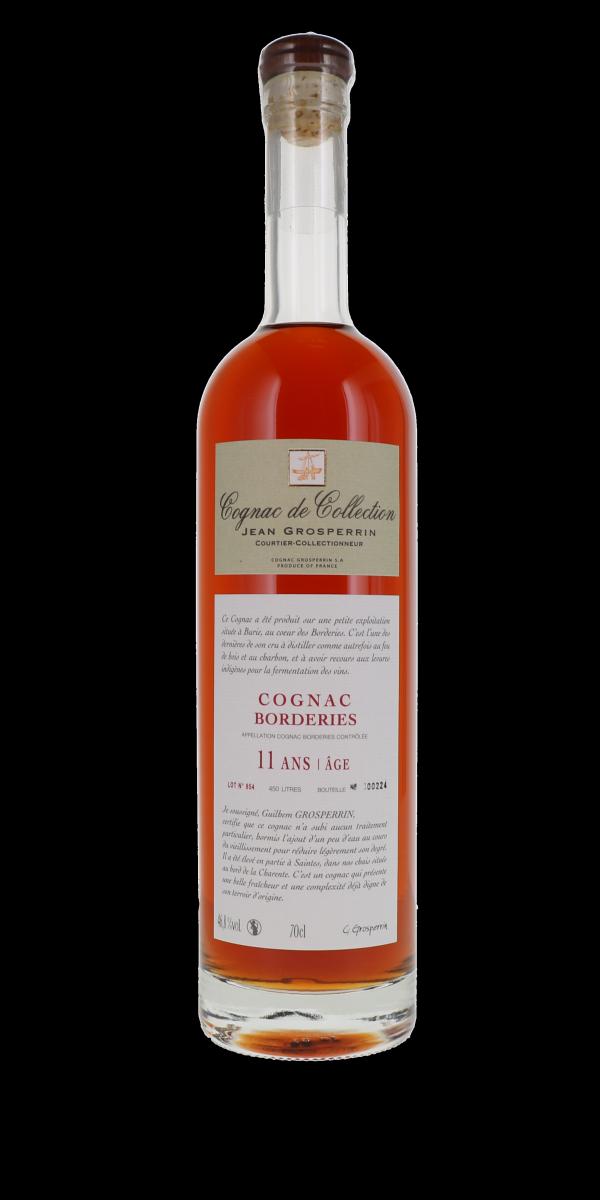 COGNAC BORDERIES 11 ANS 46,8% JEAN GROSPERRIN