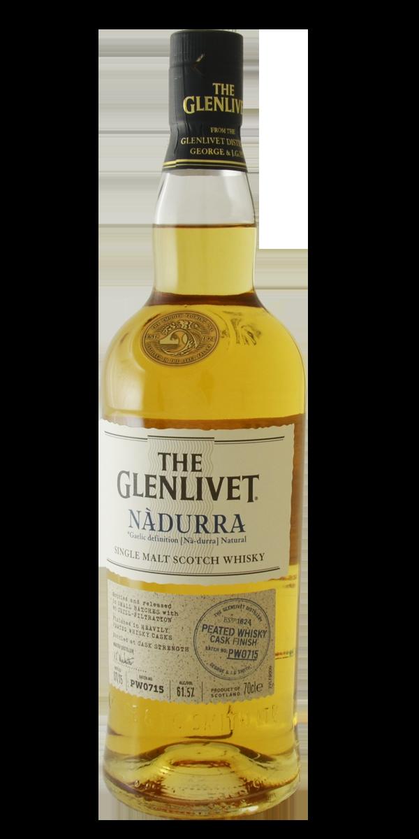 WHISKY THE GLENLIVET NADURRA PEATED 61.5%