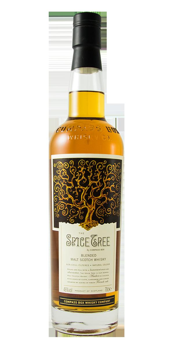 WHISKY THE SPICE TREE COMPASS BOX 46%