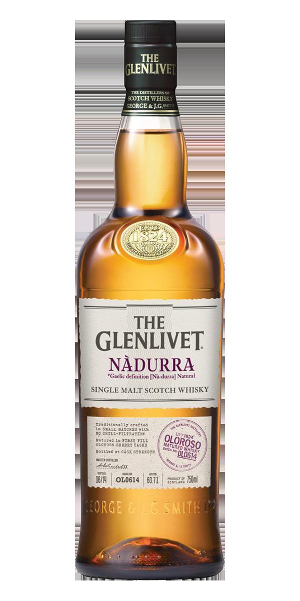 WHISKY THE GLENLIVET NADURRA OLOROSO 60.7%