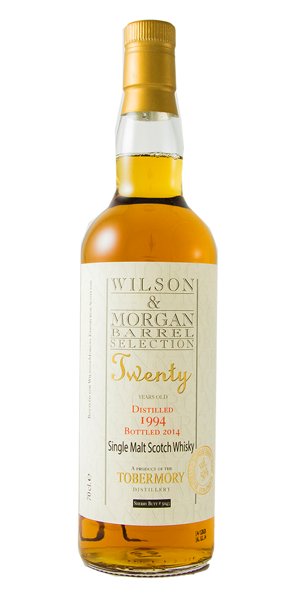 WHISKY TOBERMORY 20 ANS 1994 50%