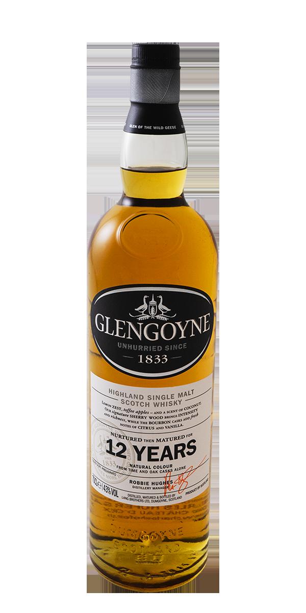 WHISKY GLENGOYNE 12 ANS 43%