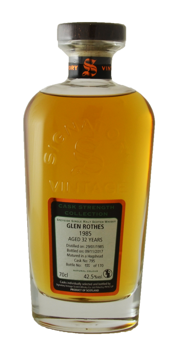 WHISKY GLENROTHES 32 ANS 1985 42.5%