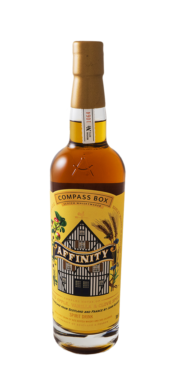 BLENDED SPIRITS AFFINITY 46% COMPASS BOX
