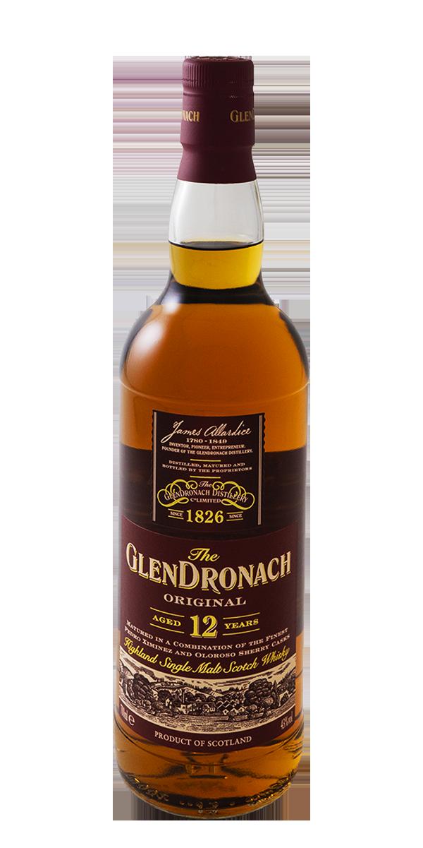 WHISKY GLENDRONACH 12 ANS ORIGINAL 46%