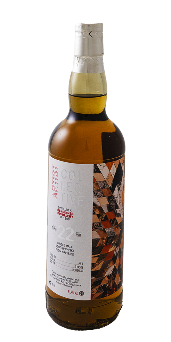WHISKY BENRINNES 22 ANS 1996 COLLECTIVE 3.0 51.4%