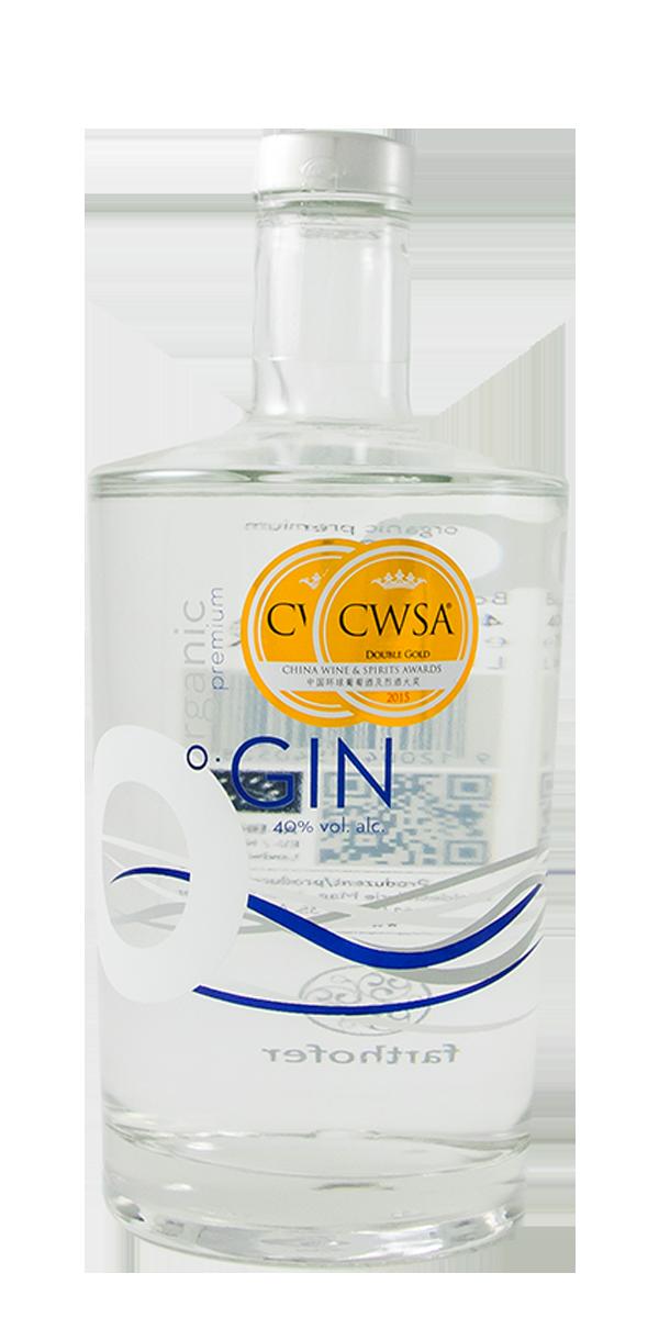 GIN ORGANIC PREMIUM 40% FARTHOFER