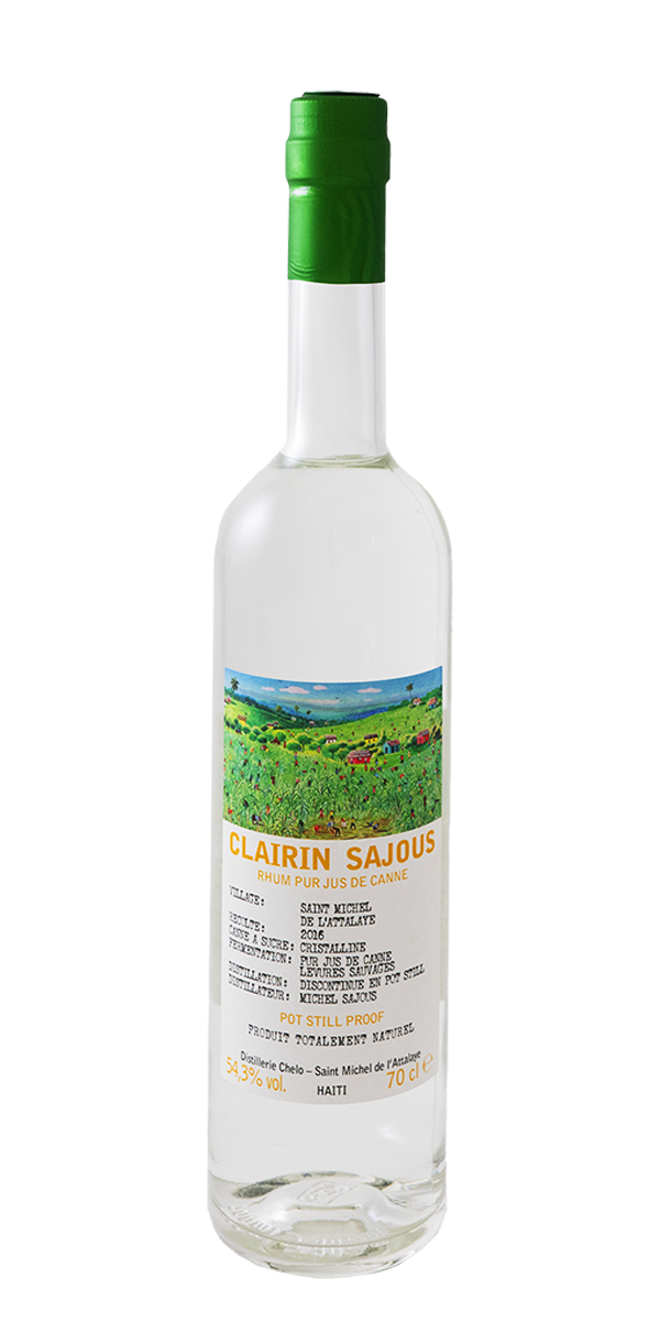 RHUM CLAIRIN SAJOUS 2016 54.3%