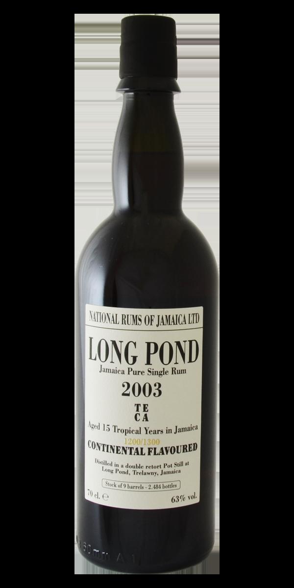 RHUM LONG POND 2003 15 ANS 63%