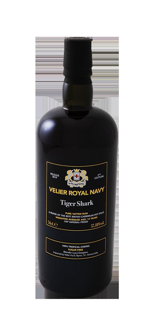 RHUM ROYAL NAVY TIGER SHARK 57.18%