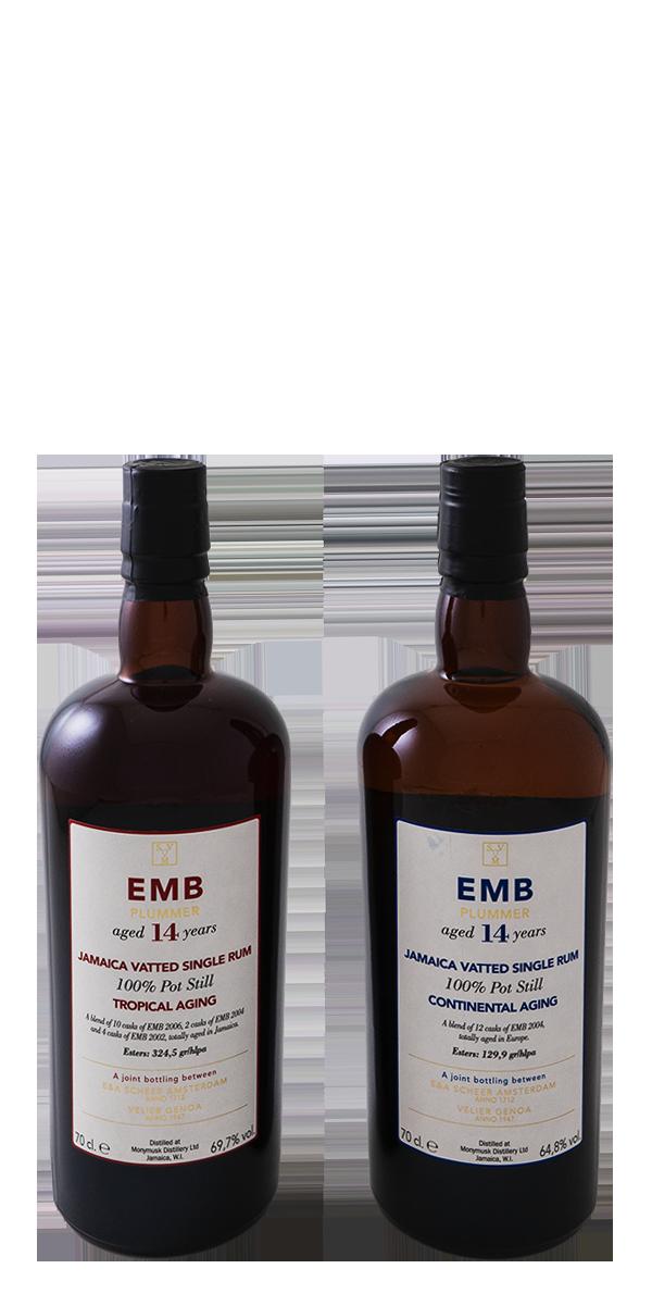COFFRET RHUM EMB 14 ANS 67.2% TROPIC VS CONTINENTAL AGING