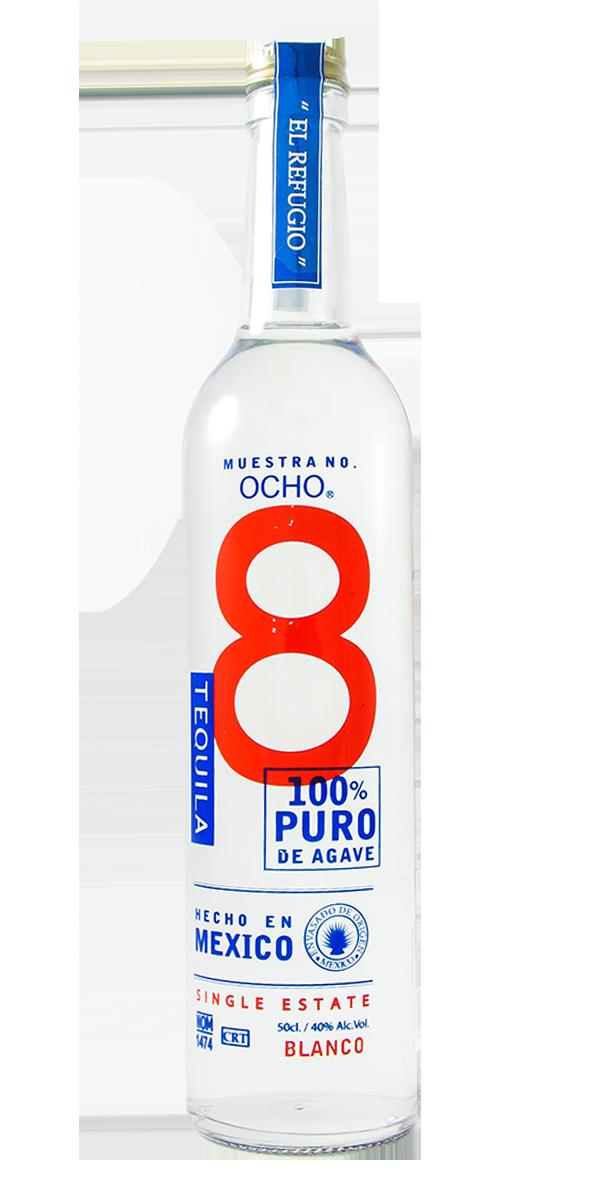 TEQUILA OCHO BLANCO 40%
