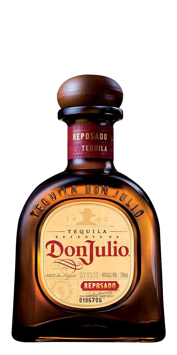 TEQUILA DON JULIO REPOSADO 38%