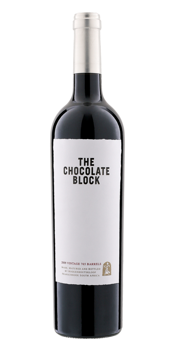 THE CHOCOLATE BLOCK WEINGUT BOEKENHOUTSKLOOF