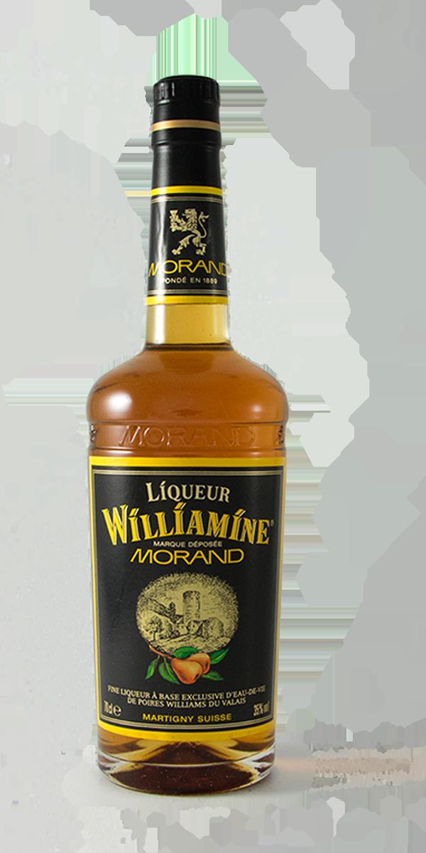 WILLIAMINE FLASQUE METAL DISTILLERIE MORAND