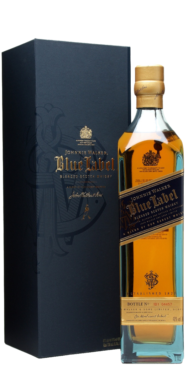 BLUE LABEL JOHNNIE WALKER