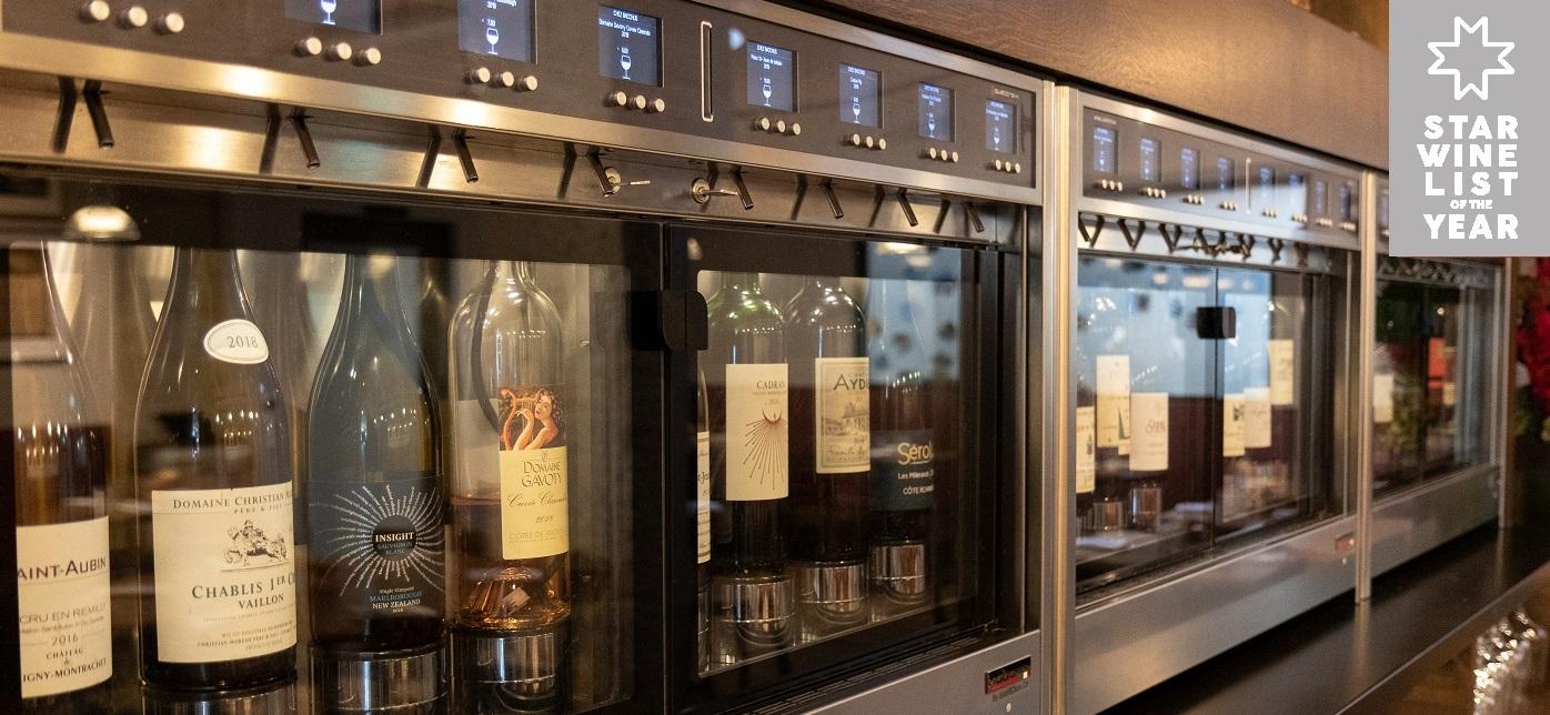 Chez Bacchus, prochainement référencé dans le guide des vins Star Wine List